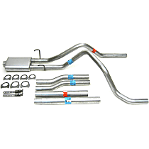 17363 Super Turbo Series - 1996-1999 Cat-Back Exhaust System - Made of Aluminized Steel