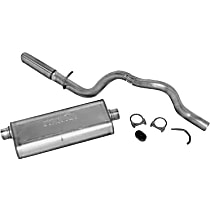 Dynomax - 2002-2004 Jeep Grand Cherokee Cat-Back Exhaust System - Made of Stainless Steel