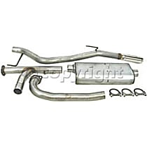 Dynomax Ultra Flo Welded - 2005-2012 Nissan Xterra Cat-Back Exhaust System - Made of Stainless Steel