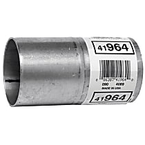 41964 Aluminized Steel Exhaust Pipe - Connector-Pipe