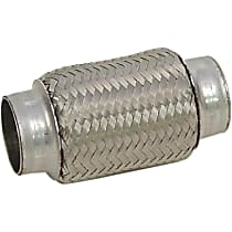 51015 Flex Pipe - Stainless Steel, Universal, Sold individually