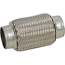 51021 Flex Pipe - Stainless Steel, Universal, Sold individually