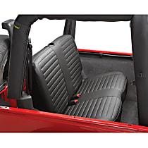29221-15 HighRock 4x4 Element Series Second Row Seat Cover - Black Denim (Mfr. Color), Direct Fit