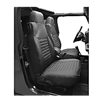 29224-09 HighRock 4x4 Element Series Front Row Seat Cover - Charcoal (Mfr. Color), Direct Fit