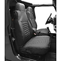 29224-15 HighRock 4x4 Element Series Front Row Seat Cover - Black Denim (Mfr. Color), Direct Fit