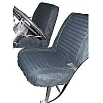 29225-15 HighRock 4x4 Element Series Front Row Seat Cover - Black Denim (Mfr. Color), Direct Fit