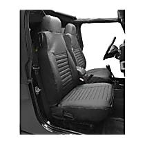29227-15 HighRock 4x4 Element Series Front Row Seat Cover - Black Denim (Mfr. Color), Direct Fit