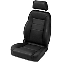 Seat - High back bucket seat without adjustable headrest, Direct Fit, Sold individually