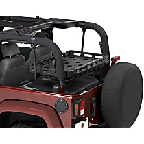 Cargo Rack - Black, Thermoplastic, Direct Fit, Sold individually