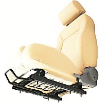 Bestop 51245-01 Seat Slider - Powdercoated Black, OE Style, Direct Fit, Kit