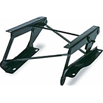 51253-01 Seat Riser - Powdercoated Black, Steel, Direct Fit, Sold individually