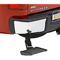 Bestop 75304-15 Bumper Step - Powdercoated Black, Aluminum, Direct Fit, Sold individually