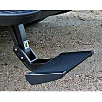 75317-15 Side Steps - Powdercoated Black, Aluminum, Direct Fit, Sold individually