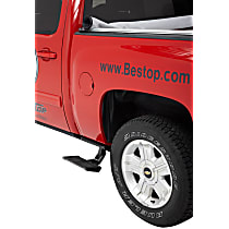 Bestop 75407-15 Side Steps - Powdercoated Black, Aluminum, Side Mount, Direct Fit, Sold individually