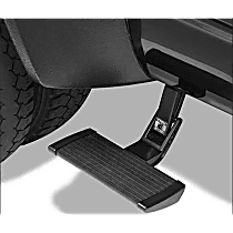 75415-15 Side Steps - Powdercoated Black, Aluminum, Side Mount, Direct Fit, Sold individually