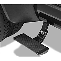 75416-15 Side Steps - Powdercoated Black, Aluminum, Side Mount, Direct Fit, Sold individually