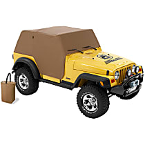 Bestop 81036-37 Truck Cab Top Cover - Tan, Polyvinyl, Direct Fit, Sold individually