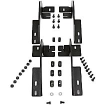 Dee Zee DZ16221 Running Board Mounting Kit - Powdercoated Textured Black, Steel, Direct Fit, Kit