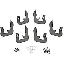 Dee Zee DZ16325 Running Board Mounting Kit - Powdercoated Textured Black, Steel, Direct Fit, Kit