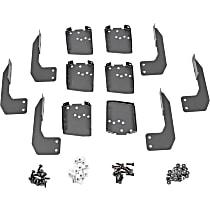 Dee Zee DZ16326 Running Board Mounting Kit - Powdercoated Textured Black, Steel, Direct Fit, Kit