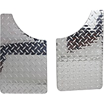 Mud Flaps, Set of 2 Front or Rear, Driver and Passenger Side