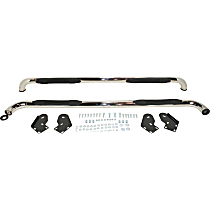 DZ370303 EC2 Series Polished Nerf Bars, Covers Cab Length - Set of 2