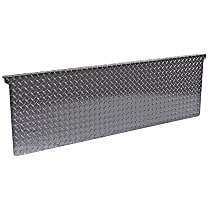 Dee Zee DZ4121B Tailgate Protector - Black diamond plate, Aluminum, Direct Fit, Sold individually