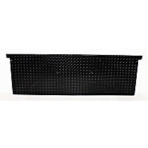 Dee Zee DZ4137B Tailgate Protector - Black diamond plate, Aluminum, Direct Fit, Sold individually