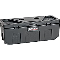 Storage Box - Black, Plastic, Direct Fit, Sold individually