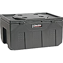 DZ6537P Storage Box - Black, Plastic, Direct Fit, Sold individually