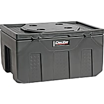 Dee Zee DZ6537P Storage Box - Black, Plastic, Direct Fit, Sold individually