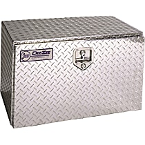 Truck Tool Box - Diamond brite, Aluminum, Tool Box, Universal, Sold individually