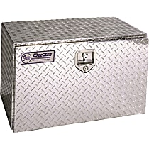Dee Zee DZ77 Truck Tool Box - Diamond brite, Aluminum, Tool Box, Universal, Sold individually
