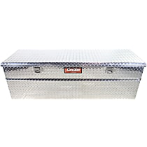 Dee Zee DZ8560W Truck Tool Box - Diamond brite, Aluminum, Low Profile, Direct Fit, Sold individually