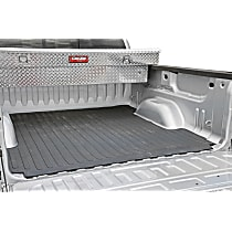 DZ86501 Bed Mat - Black, Rubber, Flat Bed Liner, Direct Fit, Sold individually
