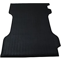 DZ86718 Bed Mat - Black, Rubber, Flat Bed Mat, Direct Fit, Sold individually