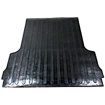 DZ86938 Bed Mat - Black, Rubber, Flat Bed Liner, Direct Fit, Sold individually