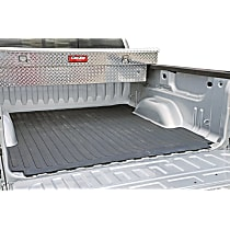 DZ86965 Bed Mat - Black, Rubber, Flat Bed Liner, Direct Fit, Sold individually