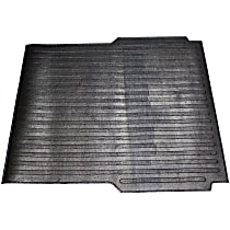 DZ86968 Bed Mat - Black, Rubber, Flat Bed Liner, Direct Fit, Sold individually