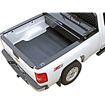 DZ86972 Bed Mat - Black, Rubber, Flat Bed Liner, Direct Fit, Sold individually
