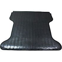 DZ86985 Bed Mat - Black, Rubber, Flat Bed Liner, Direct Fit, Sold individually