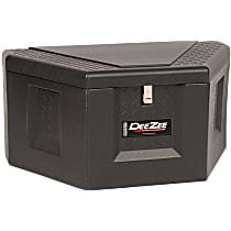 Truck Tool Box - Black, Polyethylene, Box, Universal, Sold individually
