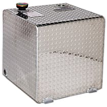 DZ91750 Liquid Tank - Diamond brite, Aluminum, Direct Fit