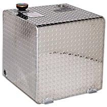 Liquid Tank - Diamond brite, Aluminum, Direct Fit