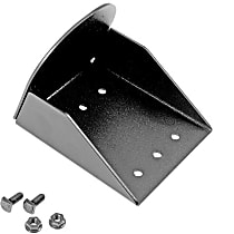 DZ95064 Light Bar Mounting Kit - Powdercoated Black, Universal, Sold individually