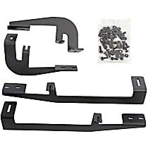 Dee Zee DZ16224 Running Board Mounting Kit - Powdercoated Textured Black, Steel, Direct Fit, Kit