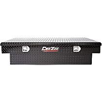 Dee Zee DZ8163B Truck Tool Box - Black, Aluminum, Standard, Direct Fit, Sold individually