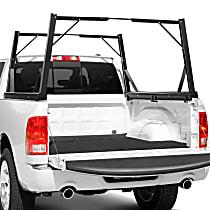 Dee Zee DZ951600 Truck Bed Rack - Powdercoated Black, Aluminum, Direct Fit, Set of 2