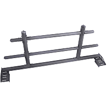 Dee Zee Hex DZ95253TB Headache Rack, Textured Black, Sold individually