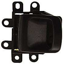 Front, Driver Side Interior Door Handle, Textured Black